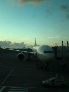 那覇空港。