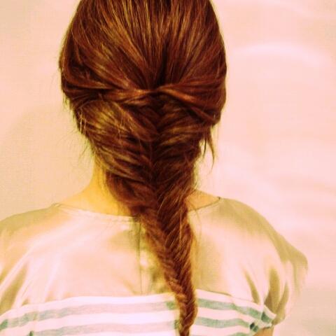 髪色、春色。