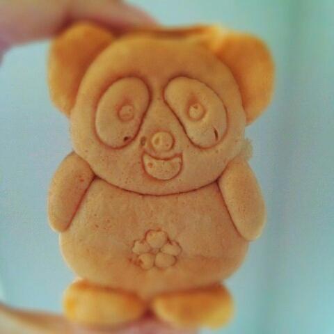 桜木亭のパンダ焼き
