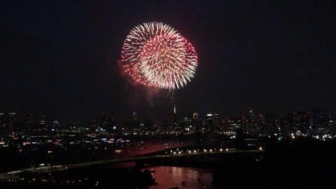 東京湾大華火祭2015